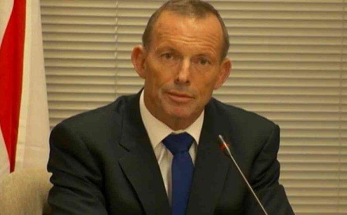 Cựu Thủ tướng Úc Tony Abbott Ảnh: SKY NEWS