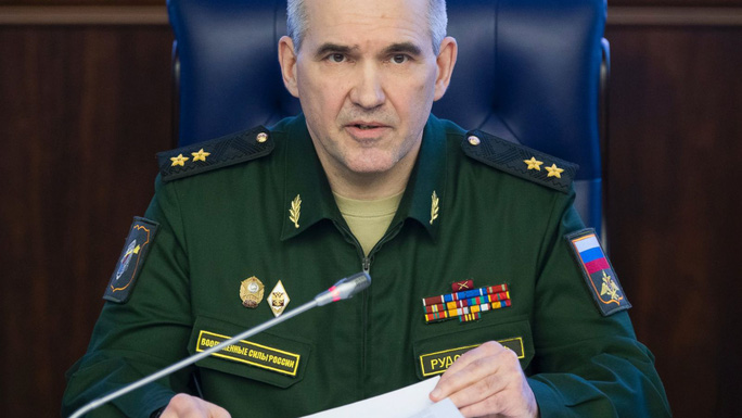 Trung tướng Sergei Rudskoy. Ảnh: AP