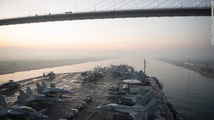 Sĩ quan chỉ huy tàu sân bay Mỹ John S. Stennis cho biết Trung Quốc đang gia tăng hoạt động gần các tàu của ông. Ảnh: US NAVY