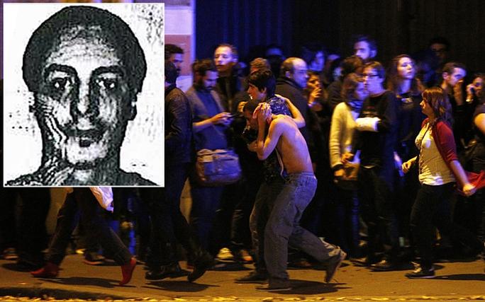 ADN của Najim Laachraoui (ảnh nhỏ) phát hiện ở các đai bom trong vụ tấn công Paris năm ngoái. Ảnh: TELEGRAPH