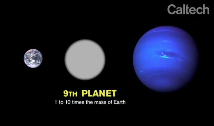 Hành tinh thứ 9. Ảnh: Caltech