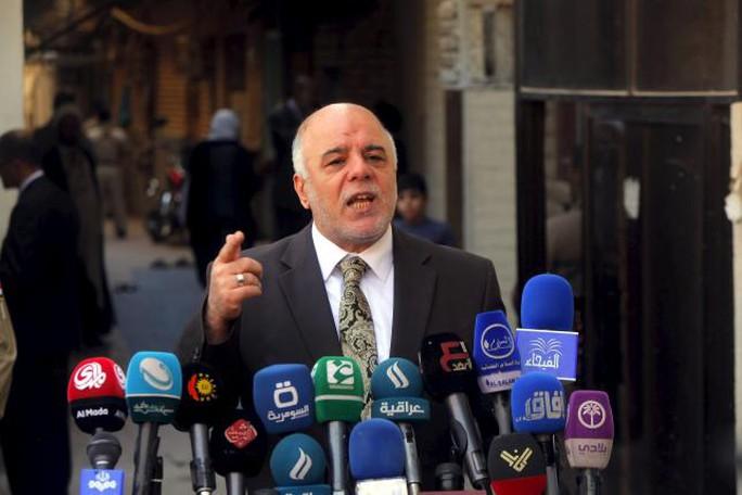 Thủ tướng Iraq Haider al-Abadi đang theo đuổi một cuộc cải tổ để dẹp nạn tham nhũng. Ảnh: REUTERS
