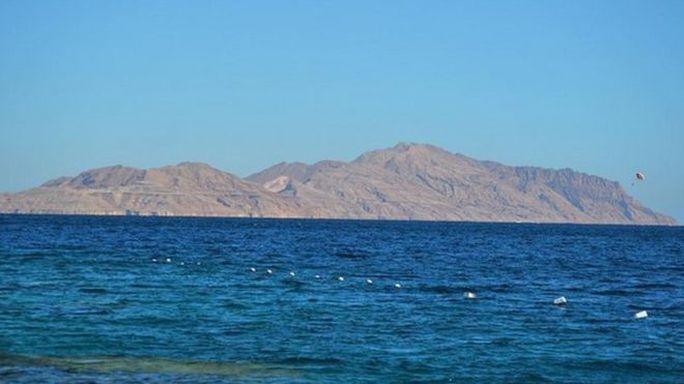 Đảo Tiran, một trong hai hòn đảo mới thuộc về Ả Rập Saudi. Ảnh: Hady Messady
