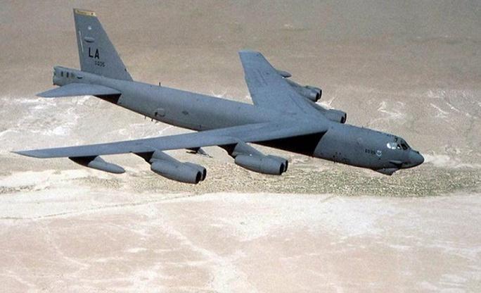 Máy bay B-52 Ảnh: INQUIRER
