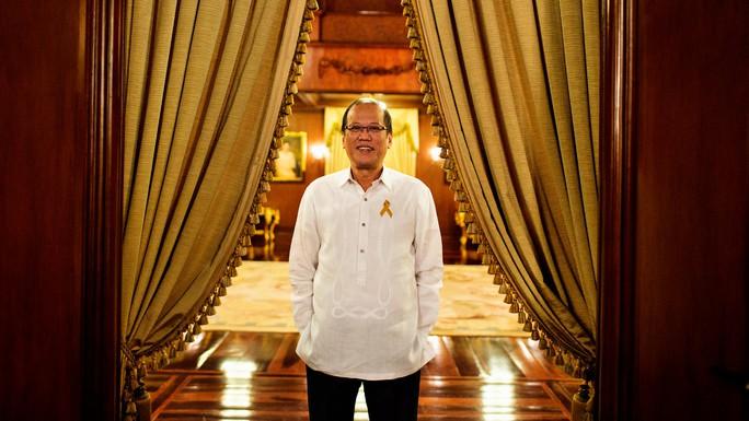 Tổng thống Aquino cho rằng Mỹ sẽ buộc phải bảo vệ Philippines hoặc là đứng trước nguy cơ mất uy tín trong khu vực. Ảnh: THE NEW YORK TIMES
