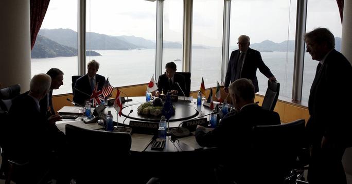 Ngoại trưởng các nước G7 họp thường niên tại Hiroshima, Nhật Bản hồi tháng 4. Ảnh: Reuters