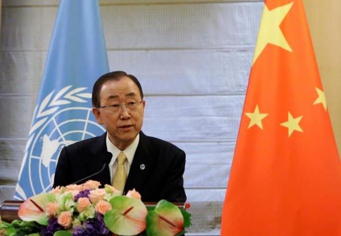 Tổng Thư ký Liên Hiệp Quốc Ban Ki-moon Ảnh: REUTERS