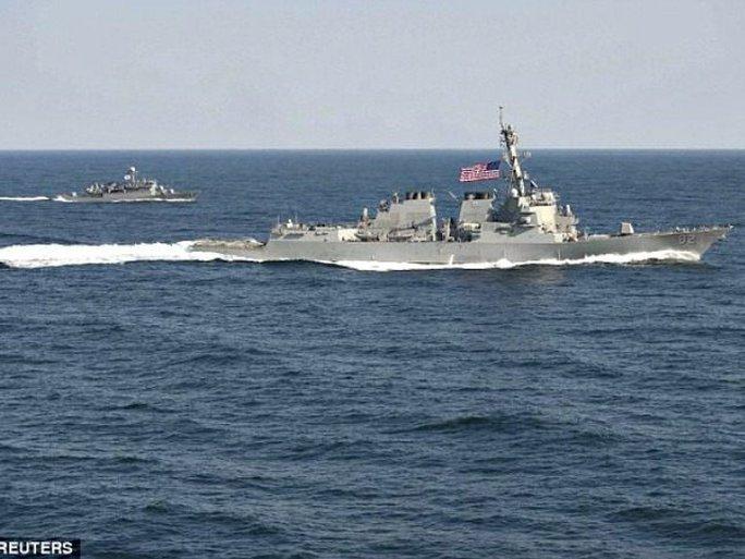 Các bên tuyên bố sẽ thúc đẩy hợp tác trong lĩnh vực hàng hải thông qua trao đổi thông tin và đối thoại. Ảnh: REUTERS