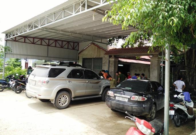 Ngôi nhà nơi nhóm thanh niên táo tợn nố súng, mang kiếm tới truy sát, đập phá ô tô ở Thanh Hóa
