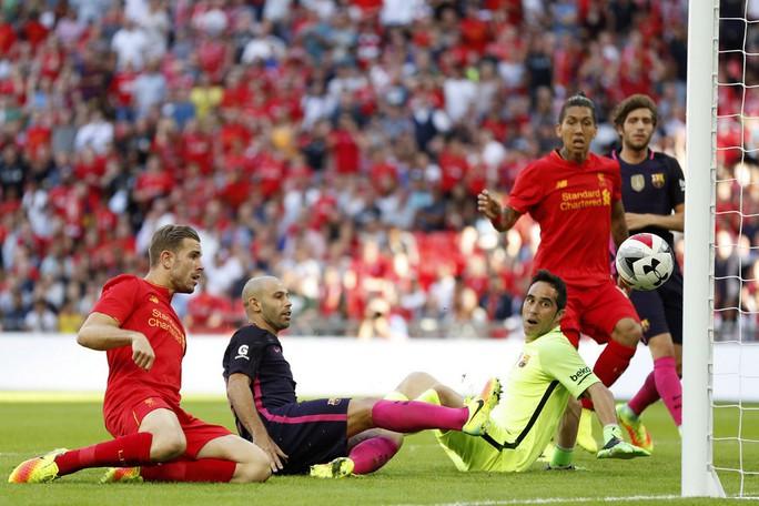 "Liverpool bất ngờ ""làm gỏi"" Barcelona"