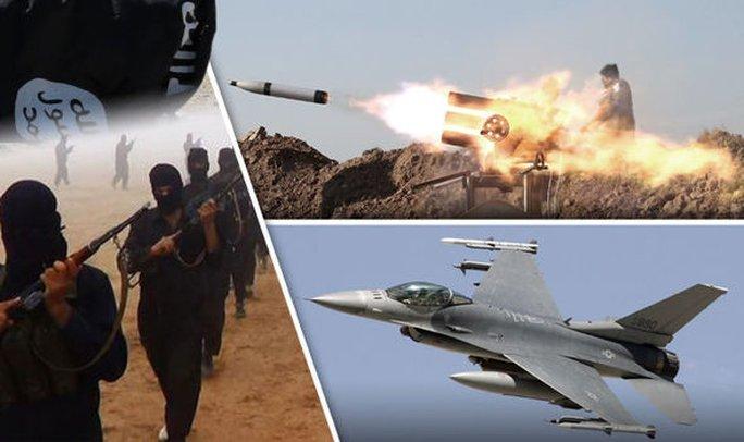 ISIS tuyên bố bắn rơi chiến đấu cơ Mỹ. Ảnh: Your News Wire