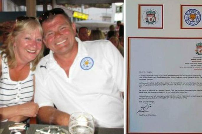 Bức thư của Jurgen Klopp gửi đến gia đình CĐV xấu số