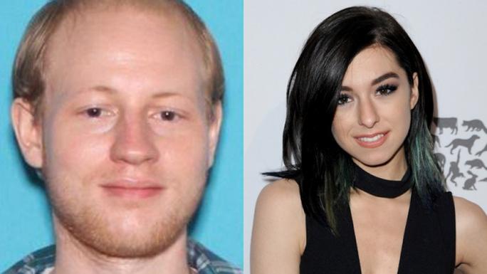 Nghi phạm bắn Christina (trái)