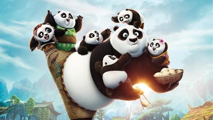 Phim Kungfa Panda 3 là một trong những phim hoạt hình đang được chờ đợi trong năm 2016