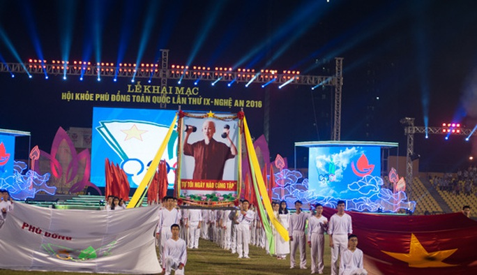 Khai mạc Hội khoẻ Phù Đổng toàn quốc IX-2016