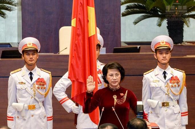 Chủ tịch QH Nguyễn Thị Kim Ngân tuyên thệ nhậm chức ngày 22-7-2016