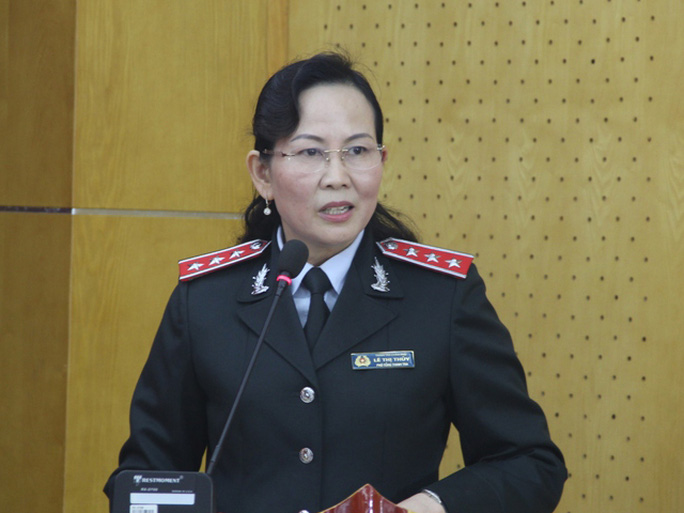 Bà Lê Thị Thủy thôi giữ chức Phó tổng Thanh tra Chính phủ - Ảnh: TTCP