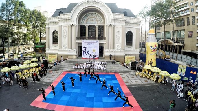 Liên hoan võ thuật Thế giới được tổ chức trong năm 2016 tại TP HCM