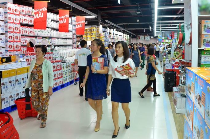OTTE Mart Gò Vấp là trung tâm thương mại thứ 12 của Lotte tại Việt Nam. Ảnh: Tấn Thạnh