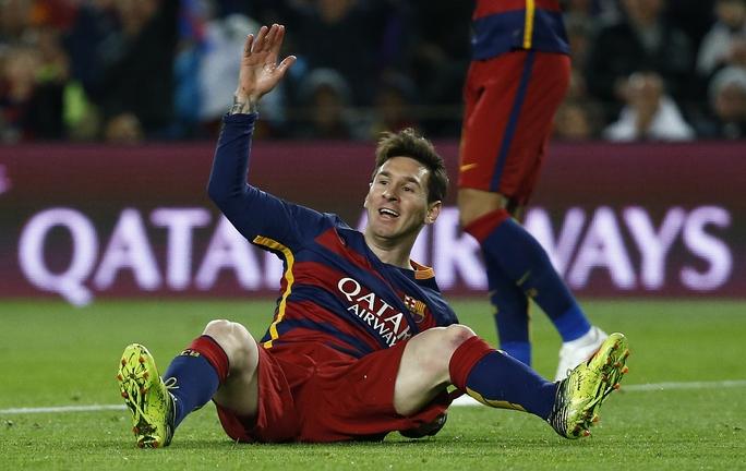 Được chờ đợi nhiều nhất nhưng Messi có một đêm đáng quên khi tịt ngòi trước sự kèm cặp rất chặt của Sergio Ramos và Pepe