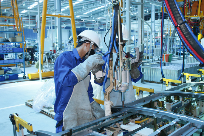 Công nhân SAMCO luôn được tạo điều kiện tiếp cận công nghệ mới để nâng cao kỹ năng nghề