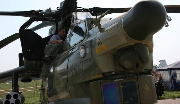 Trực thăng quân sự Mi-28NE. Ảnh: Vedomosti