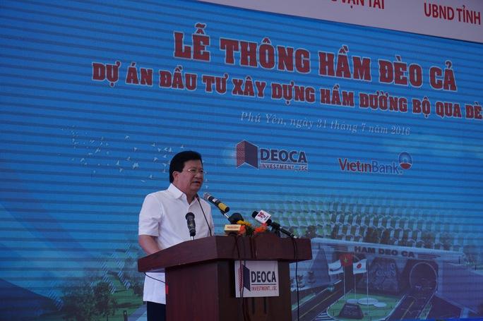 Phó Thủ tướng Chính phủ Trịnh Đình Dũng phát biểu tại buổi lễ
