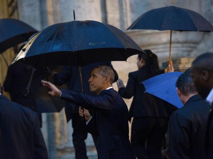 Tổng thống Obama trong chuyến thăm Cuba gần đây. Ảnh: USA Today