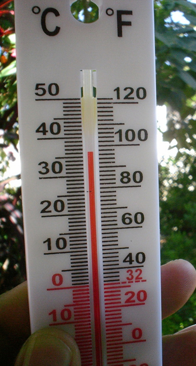 Nhiệt độ ngoài trời tại TP Phan Rang - Tháp Chàm lên 360C