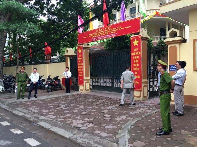 Nơi Tổng bí thư bỏ lá phiếu thực hiện quyền và nghĩa vụ công dân của mình - Ảnh: Nguyễn Quyết