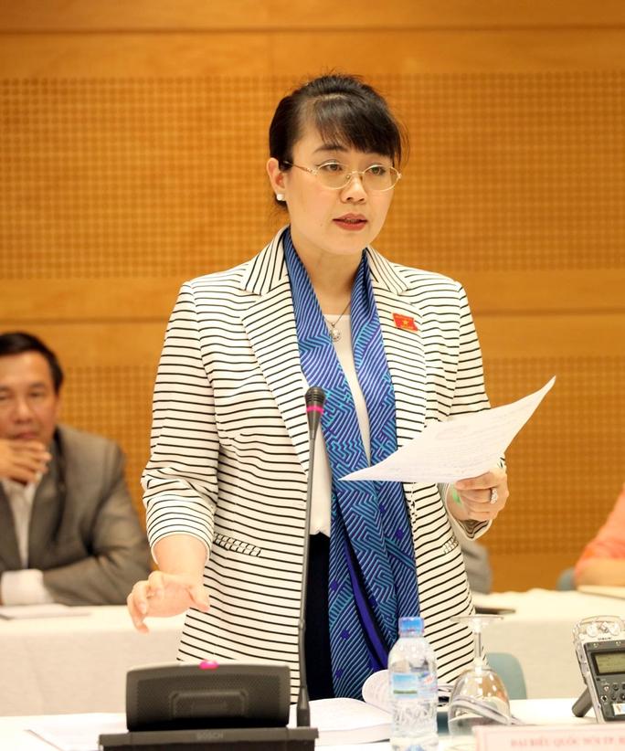 Bà Nguyễn Thị Nguyệt Hường khi là đại biểu QH khóa XIII