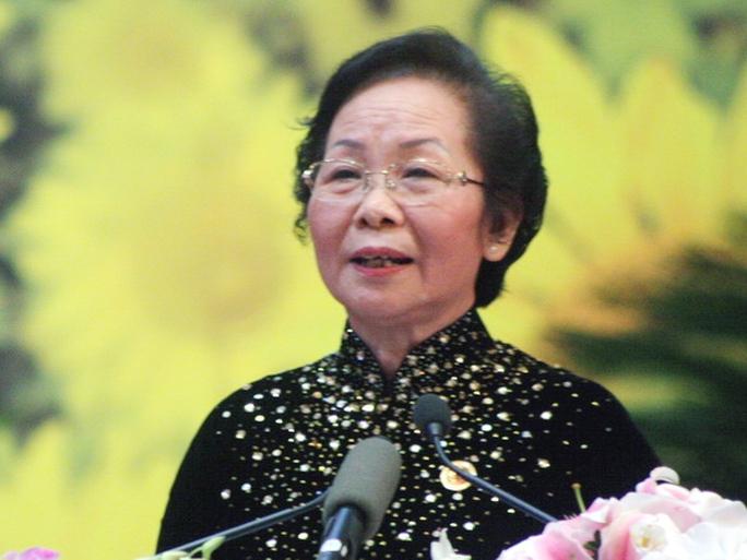 Bà Nguyễn Thị Doan đã được QH miễn nhiệm chức danh Phó chủ tịch nước - Ảnh: VTV