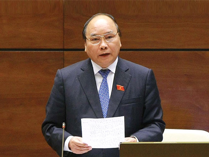 Tân Thủ tướng Nguyễn Xuân Phúc được đề nghị phê chuẩn làm Phó Chủ tịch Hội đồng Quốc phòng và an ninh