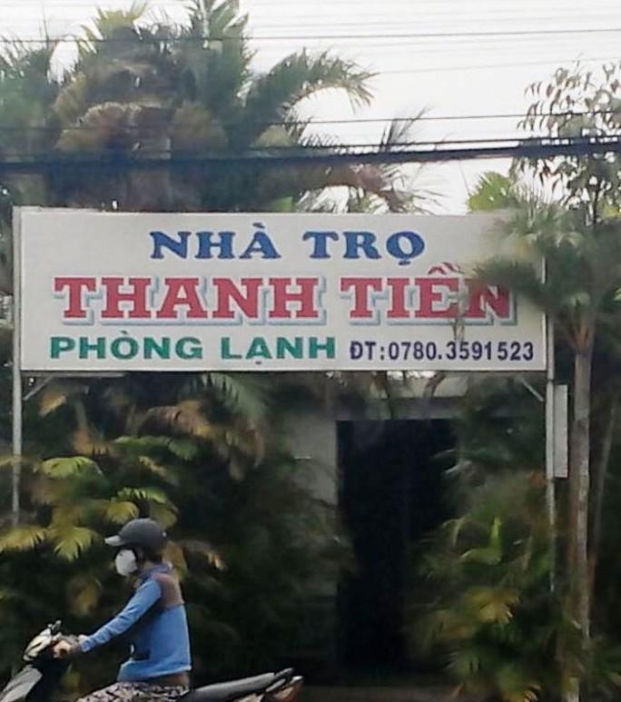 Nhà trọ Thanh Tiền, nơi ông Luận thừa nhận 2 lần mua dâm em Q.