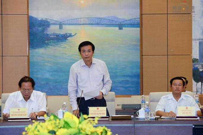 Tổng thư ký QH Nguyễn Hạnh Phúc cho biết kết quả bầu cử QH khoá XIV cho thấy cơ cấu đại biểu QH là ngoài Đảng giảm 4,2% so với khóa XIII