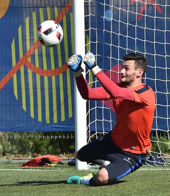 Thủ môn Lloris và tiền vệ Pogba, 2 cầu thủ không thể thiếu trong đội hình tuyển Pháp