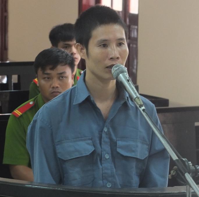 Bị cáo Nguyễn Thái Quỳnh tại phiên tòa phúc thẩm