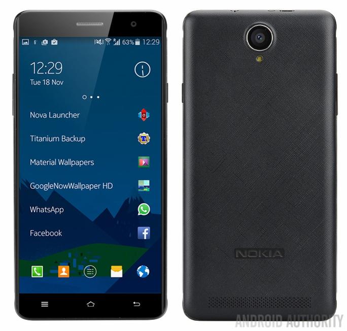 Hình ảnh rò rỉ của chiếc Nokia A1?