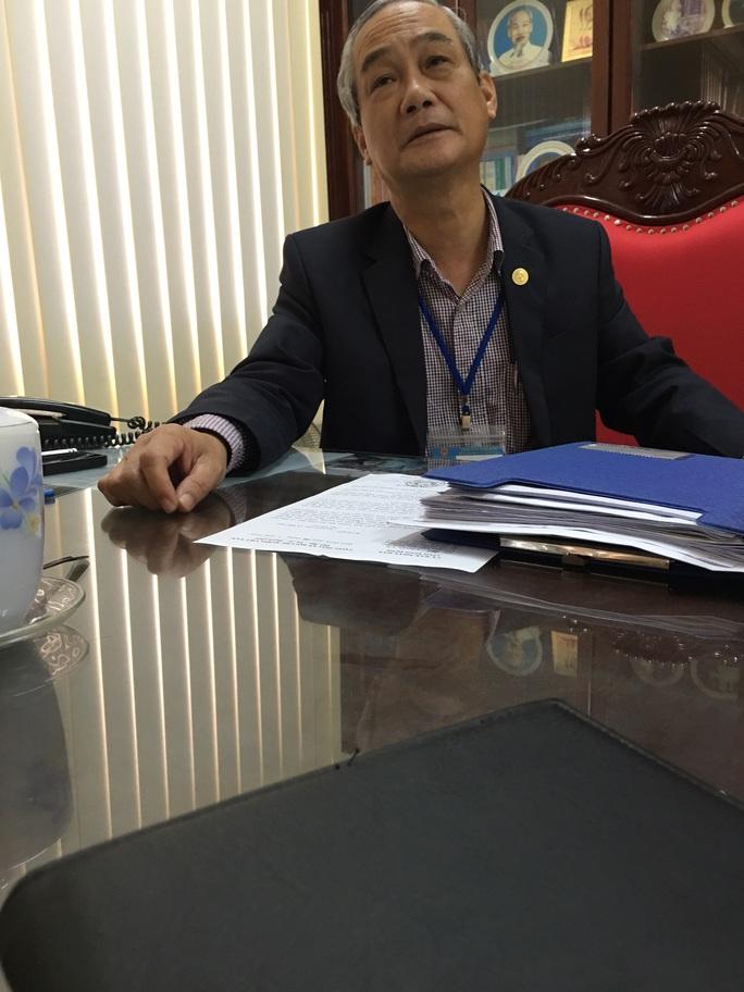 Ông Trần Đức Minh trần tình với phóng viên Báo Người Lao Động vào sáng 29-3
