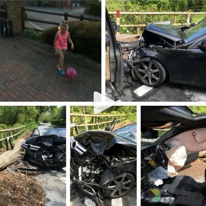 Những hình ảnh cho thấy vụ tai nạn rất kinh hoàng