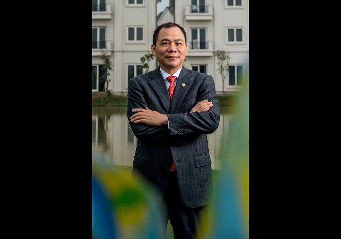 Ông Phạm Nhật Vượng. Ảnh: Forbes