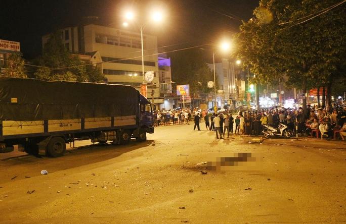 Hiện trường vụ nổ tại TP Buôn Ma Thuột, tỉnh Đắk Lắk khiến 1 người chết, 2 người bị thươngẢnh: Cao Nguyên