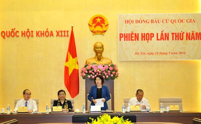 Chủ tịch Quốc hội, Chủ tịch Hội đồng bầu cử quốc gia Nguyễn Thị Kim Ngân nêu rõ đây là thời điểm đặc biệt quan trọng tiến tới ngày bầu cử 22-5