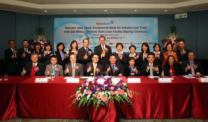 VietinBank và các ngân hàng quốc tế ký kết hợp đồng