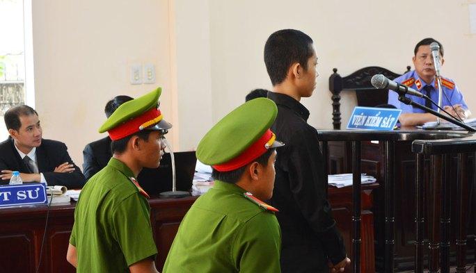 Nguyễn Mai Trung Tuấn tại phiên tòa phúc thẩm