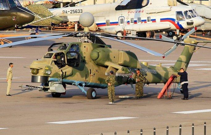 Trực thăng chiến đấu siêu thợ săn Mi-28NM được trang bị hệ thống phòng thủ tiên tiến đắt tiền nhất sẽ bất khả xâm phạm trước hỏa lực địch. Ảnh: Russiaplanes.net
