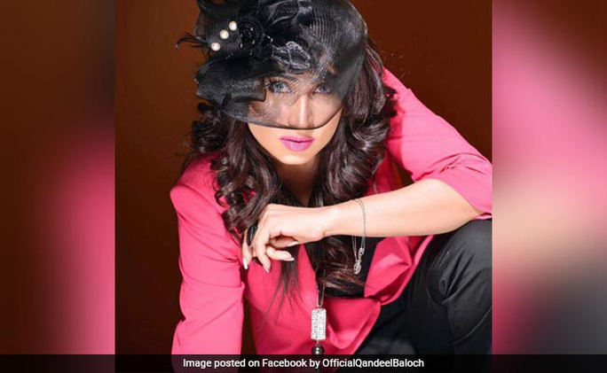 Người mẫu Qandeel Baloch. Ảnh Facebook