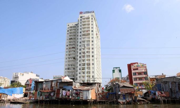 Khu vực đường Trần Xuân Soạn, quận 7 đang được cải tạo, di dời để có một bộ mặt tốt hơn trong tương lai