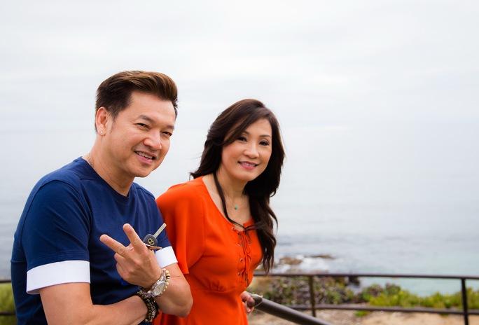Vợ chồng Quang Minh - Hồng Đào