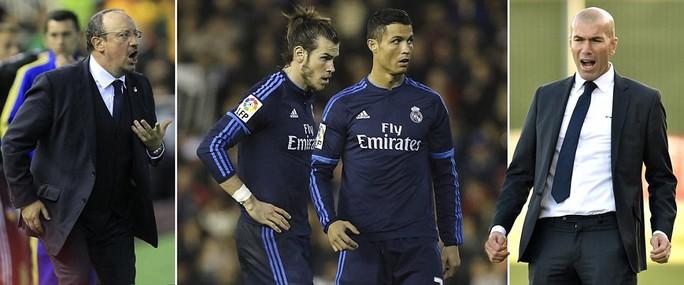 Benitez ra đi vì nhiều lý do và HLV tạm quyền Z.Zidane sẽ gặp nhiều thách thức